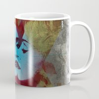 evolution Mugs featuring Evolution by Jean-Michel Lopez