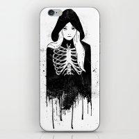 bones iPhone & iPod Skins featuring Bones by Jaaaiiro