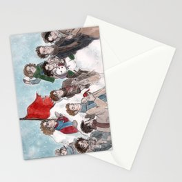 One More Day Before the Snowstorm Stationery Cards