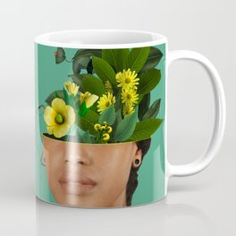 Lady Flowers VII Coffee Mug