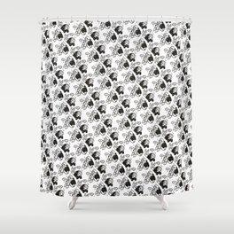 SadGirlz Shower Curtain