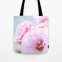 Blushing Roses Tote Bag