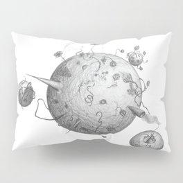 Post Human Planets Pillow Sham