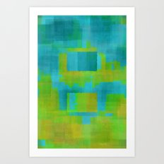 Digital#4 Art Print