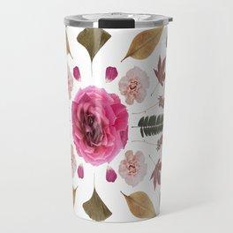 Botanical Collage N1 Travel Mug