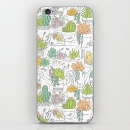 Home is Where My Plants Are iPhone Skin