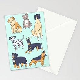 Large Dog Friends Stationery Cards