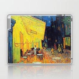 Vincent Van Gogh - Café Terrace at Night (new color editing) Laptop & iPad Skin