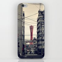 kobe iPhone & iPod Skins featuring Kobe Cables by Dora