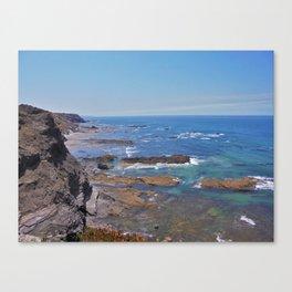 Rock beach Canvas Print