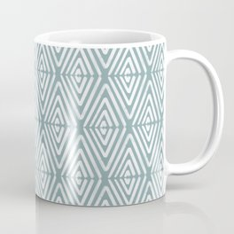 Stacked Arrows Blue and White Coffee Mug