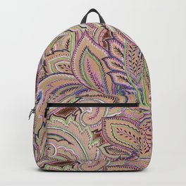 paisley warm Backpack