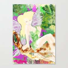 DO YOU BELIEVE IN FAYRIES? Canvas Print