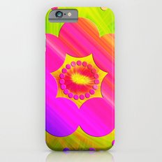 Mandala Pink Daisy Slim Case iPhone 6s