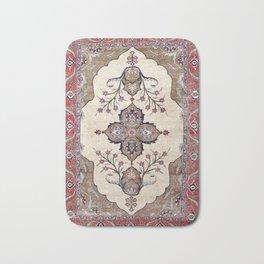 Khoy  Antique Azerbaijan Persian Rug Print Bath Mat