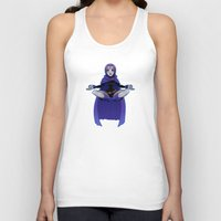 raven Tank Tops featuring Raven by ZoeStanleyArts
