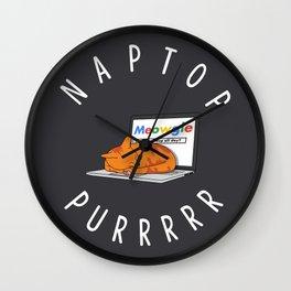 Naptop Wall Clock