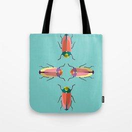 Happy beetles Tote Bag