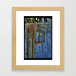 D Square Framed Art Print