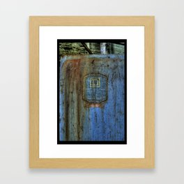 D Square Framed Art Print