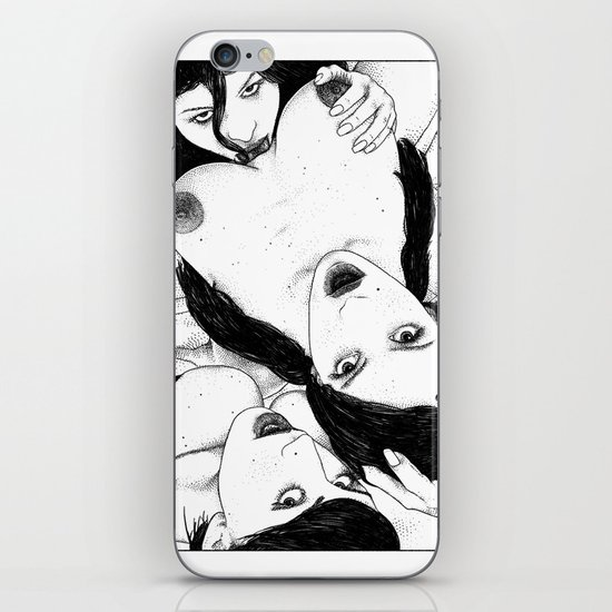asc 608 - Les exclus (The Bird's eye view) iPhone Skin