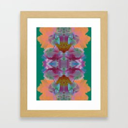 Tropical Flowers Framed Art Print