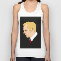 shaun of the dead Tank Tops featuring Simon Pegg - Shaun Of The Dead by Tomcert