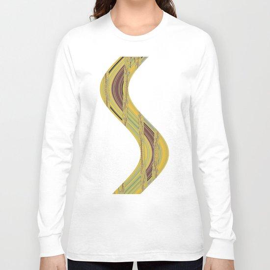 Floral Field Long Sleeve T-shirt