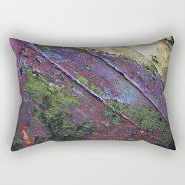 The painted Rainbow Rectangular Pillow