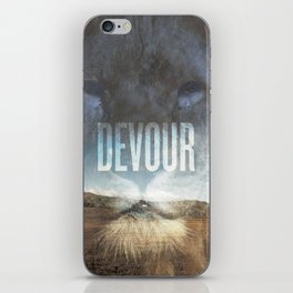 Devour Nature Like A Lion iPhone Skin