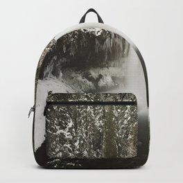 Winter Wanderlust Waterfall Backpack