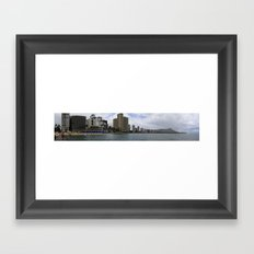 Diamond Head, Hawaii Framed Art Print
