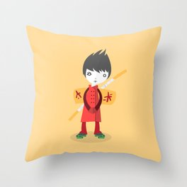 Little Ninja Throw Pillow