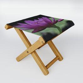 Purple Sacred Lotus Folding Stool