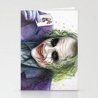 joker Stationery Cards featuring Joker  by Olechka
