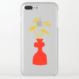 Vase 01 Clear iPhone Case