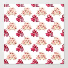 Rose Pattern Canvas Print