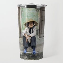 Vietnamese portrait Travel Mug