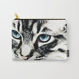 Cat By Annie Zeno Carry-All Pouch