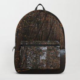 AUTUMN FOREST ROAD Backpack