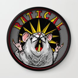 Ratical Wall Clock