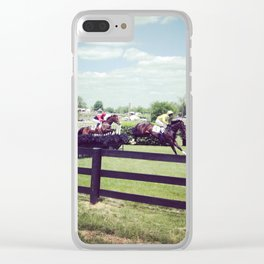 High Hope Clear iPhone Case