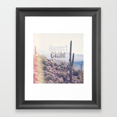 Desert Child Framed Art Print