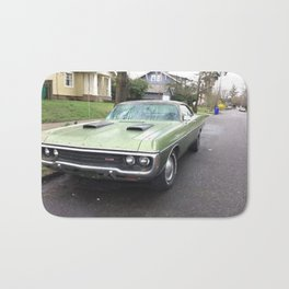 Rare 1971 Brazilian Model Only Polara GT Muscle car Bath Mat
