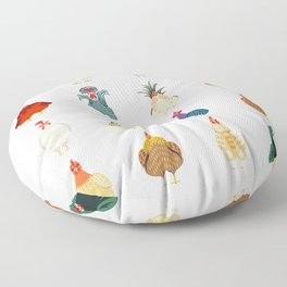 Cute Chicken Floor Pillow