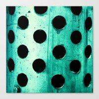 polka dots Canvas Prints featuring Polka dots by Elisabeth Fredriksson