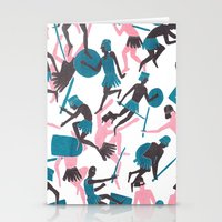 war Stationery Cards featuring War by James White
