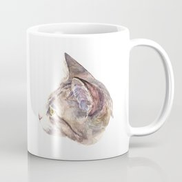 The cat with yellow eyes Coffee Mug