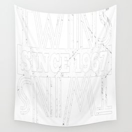 Twins-Since-1967---50th-Birthday-Gifts Wall Tapestry