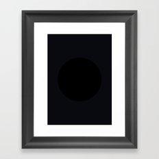 Beach - Balls Serie Framed Art Print